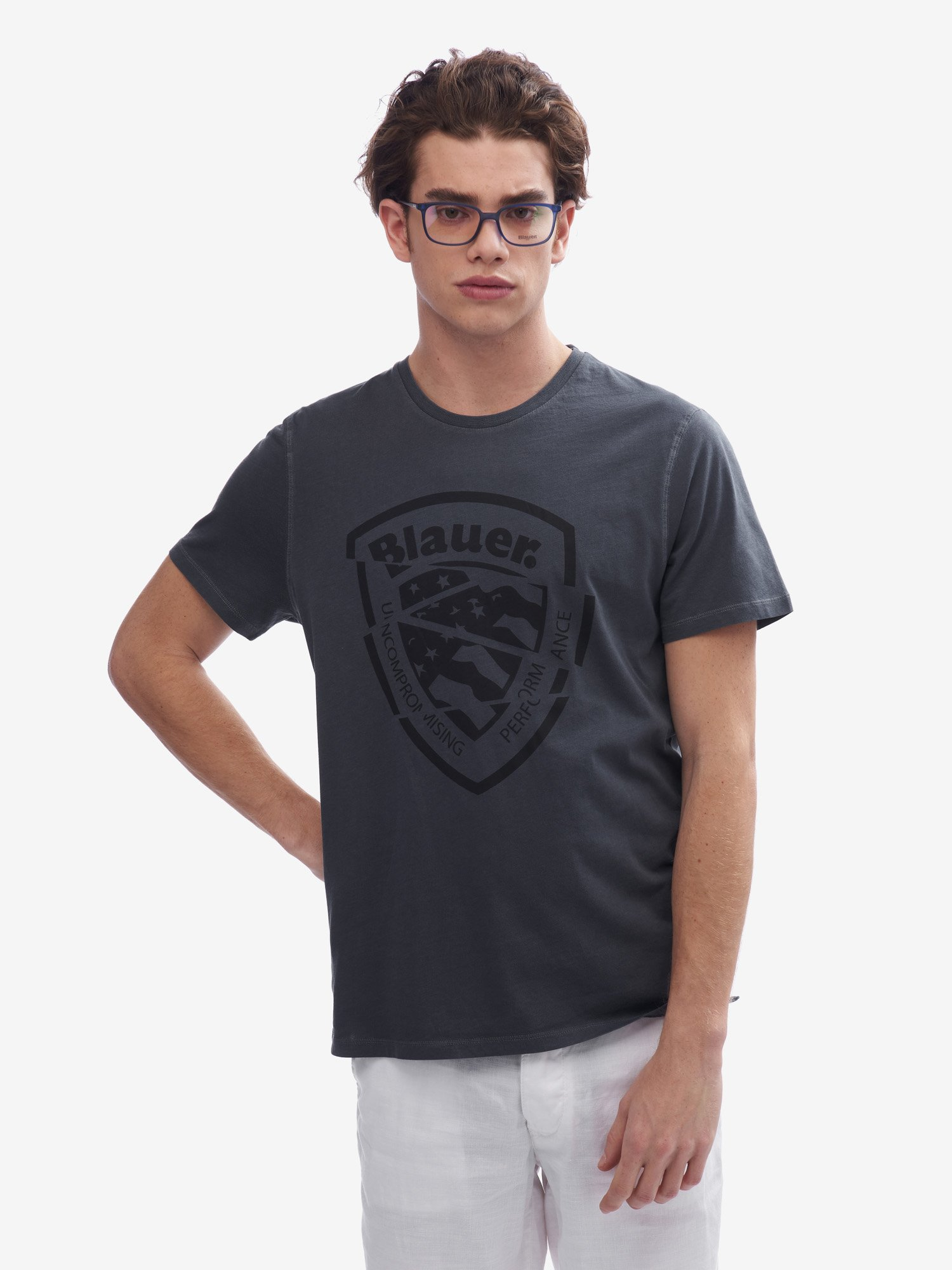 SHORT SLEEVE T-SHIRT - Blauer