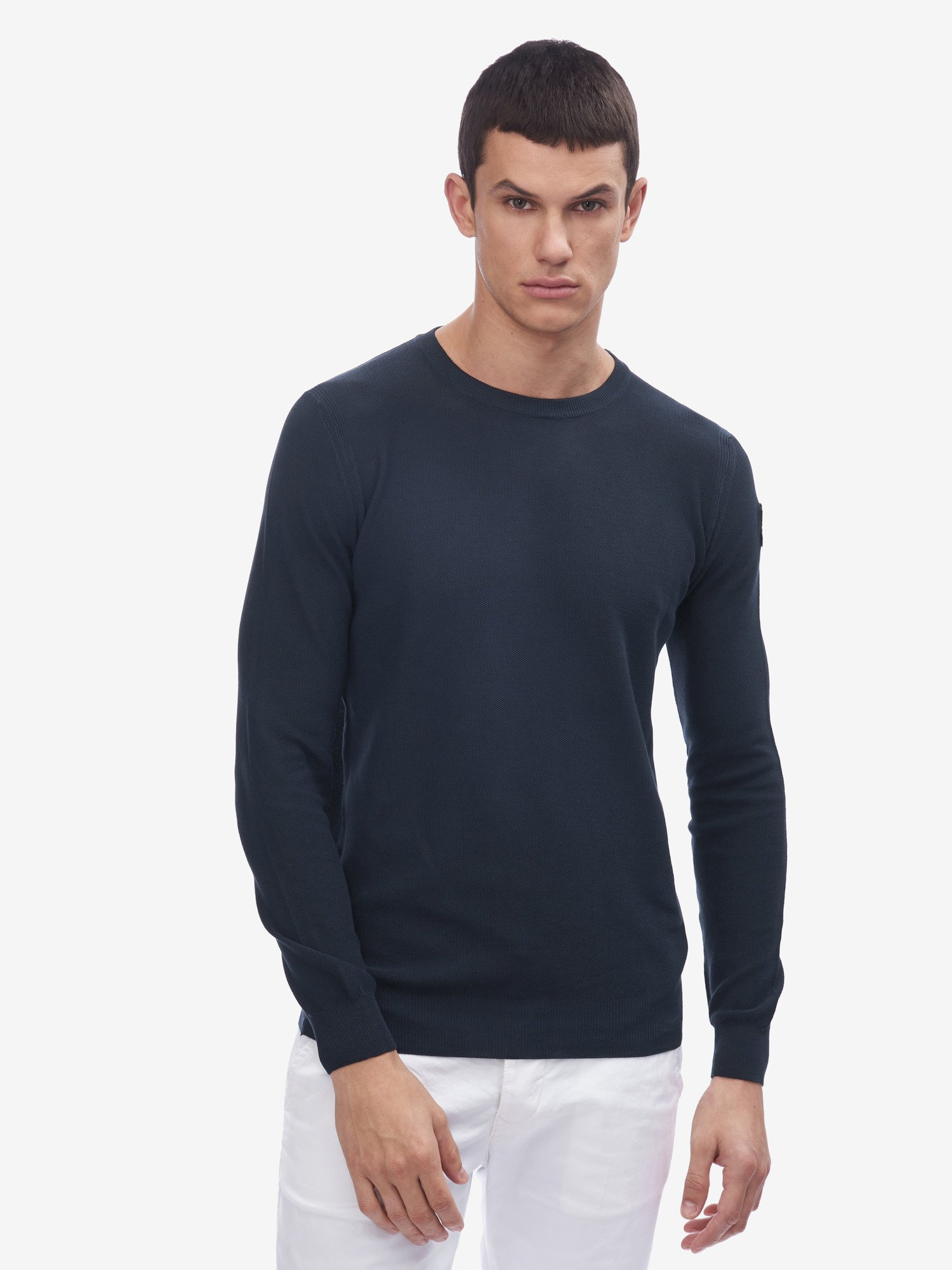 PIQUET KNIT SWEATER - Blauer