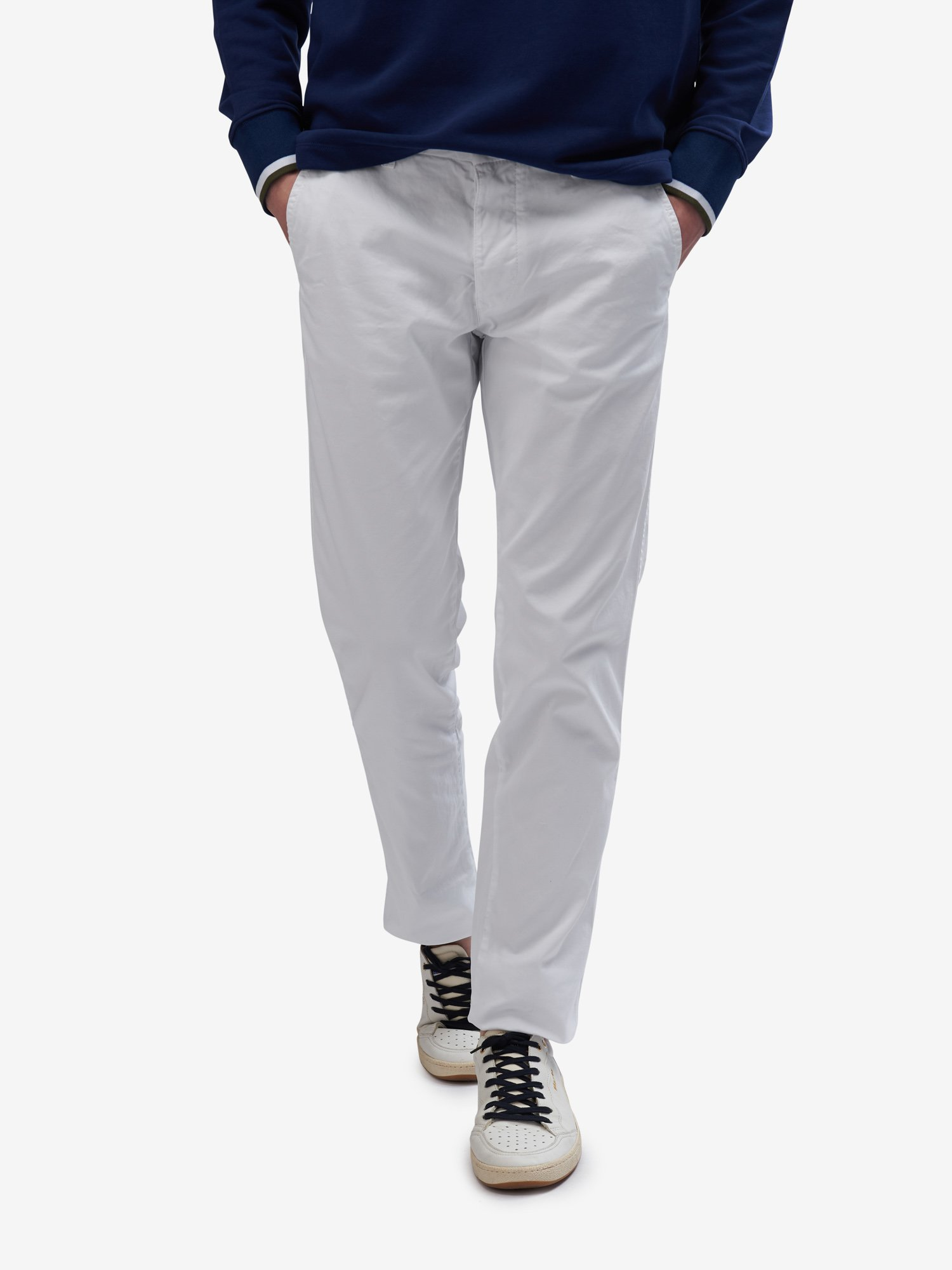 LONG CHINO TROUSERS - Blauer