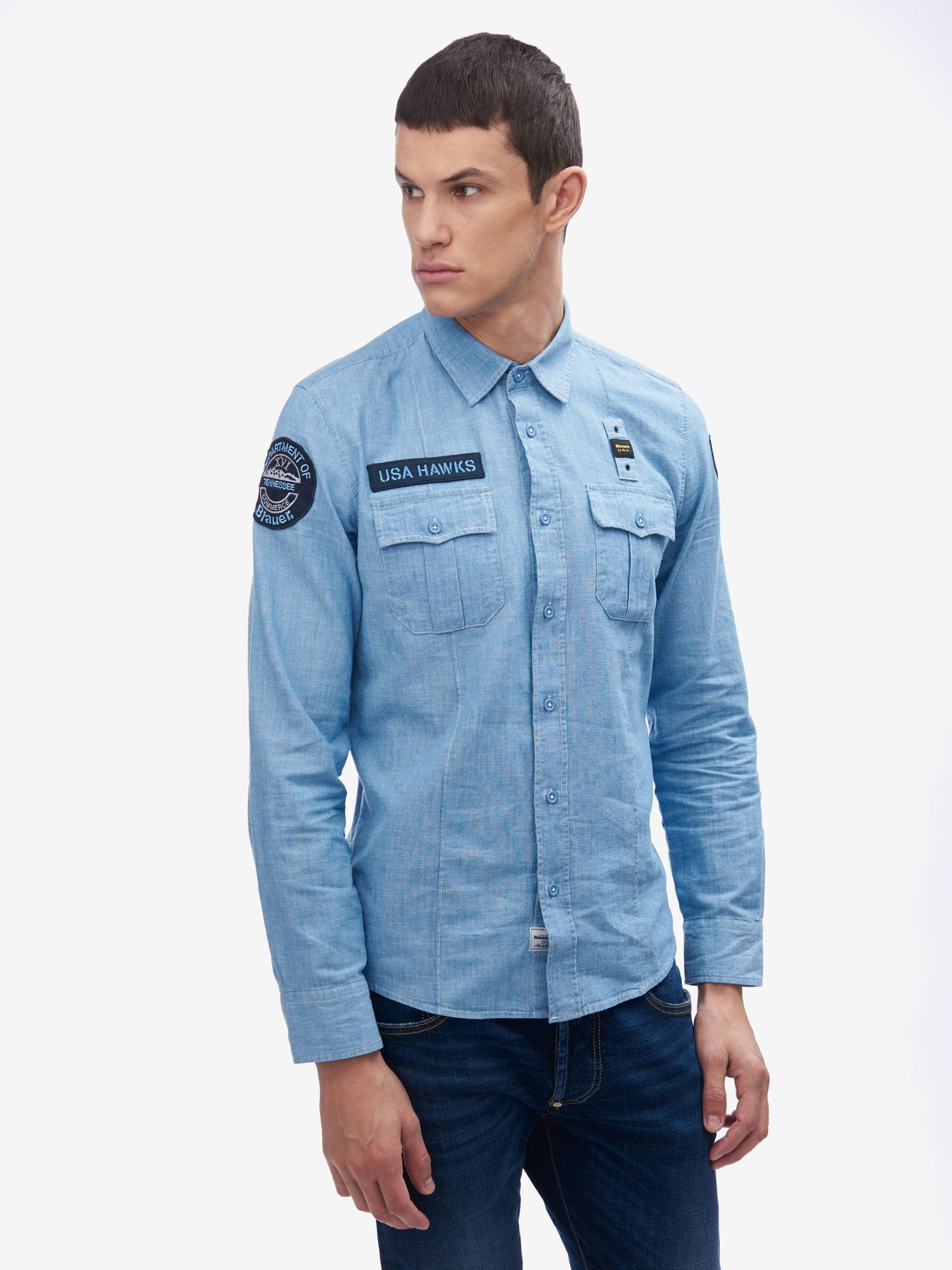 CAMISA LOOK DENIM - Blauer