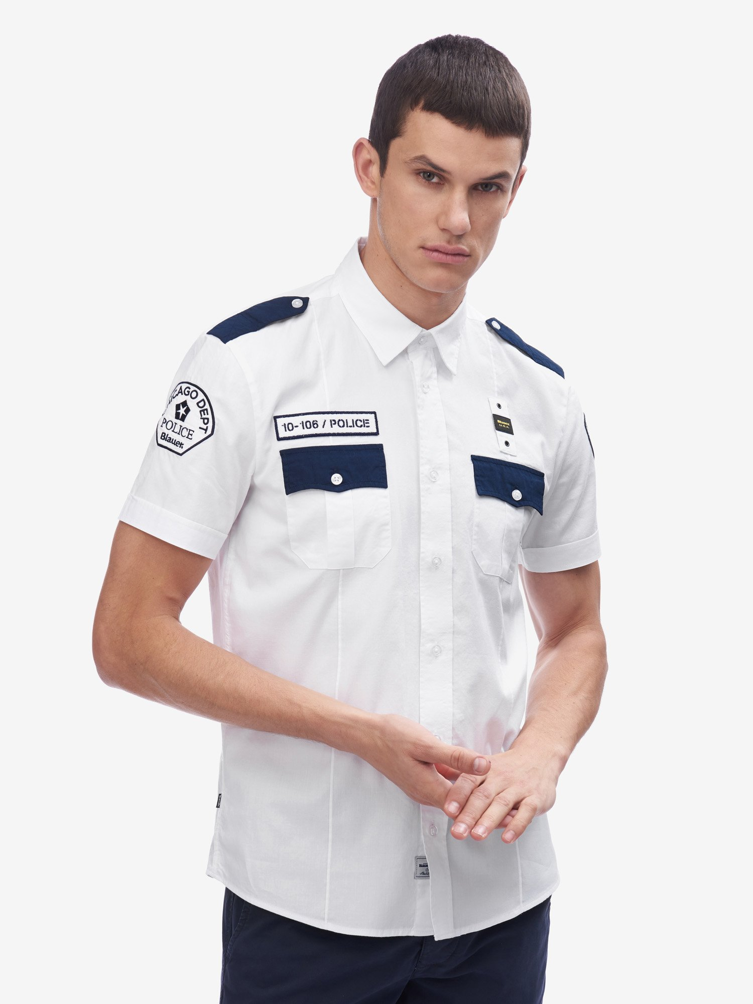 РУБАШКА CHICAGO POLICE - Blauer