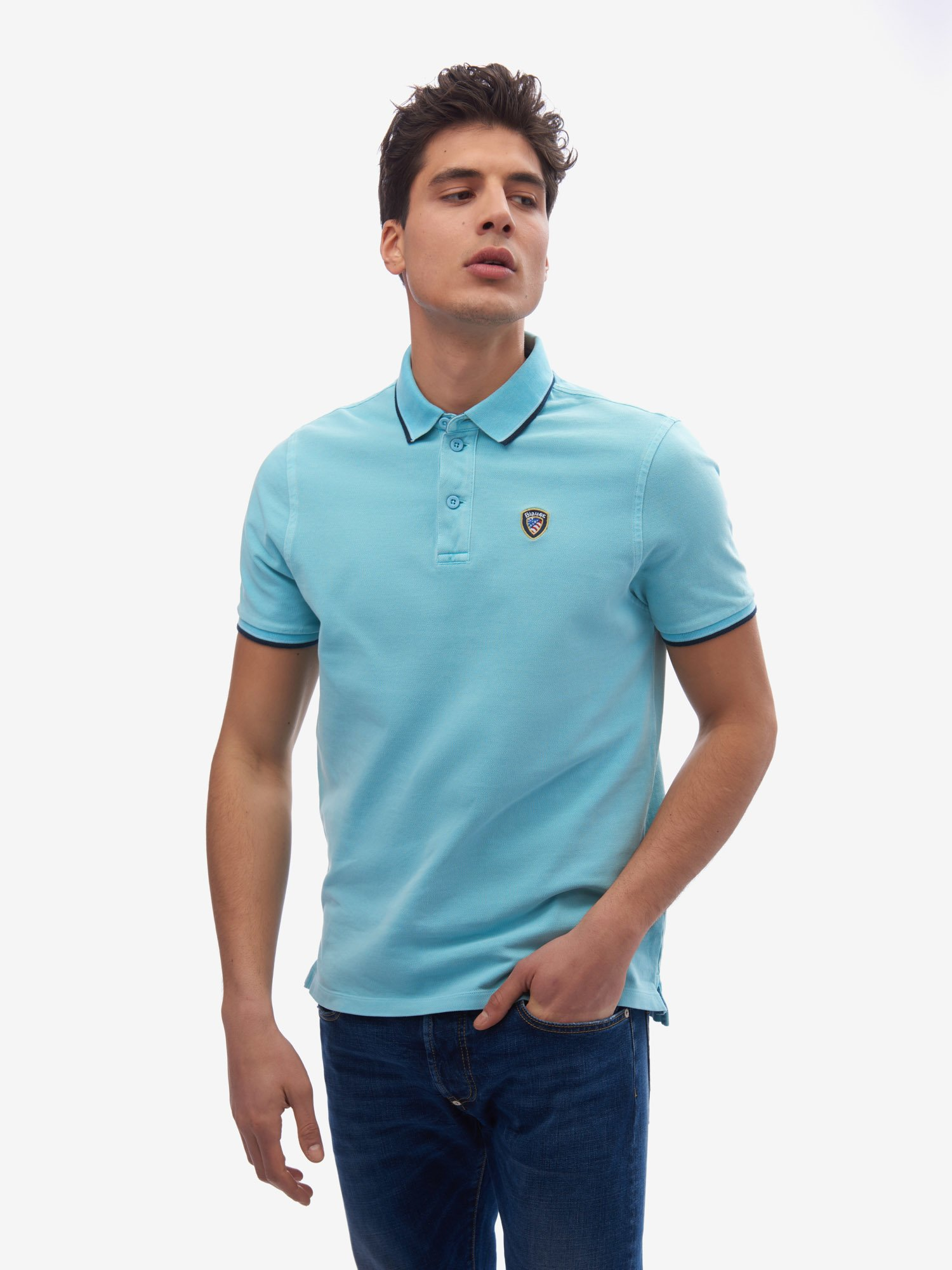 POLO  BLAUER OLD STYLE - Blauer