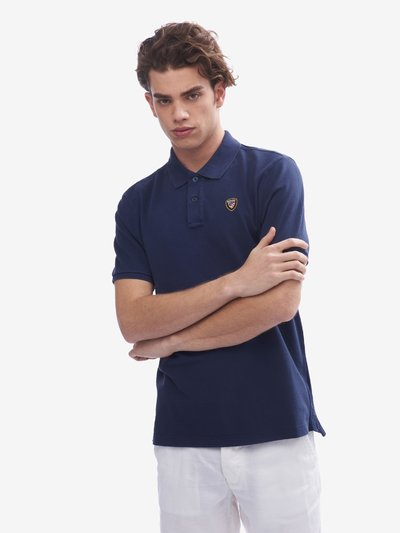 SHORT SLEEVE BLAUER POLO SHIRT