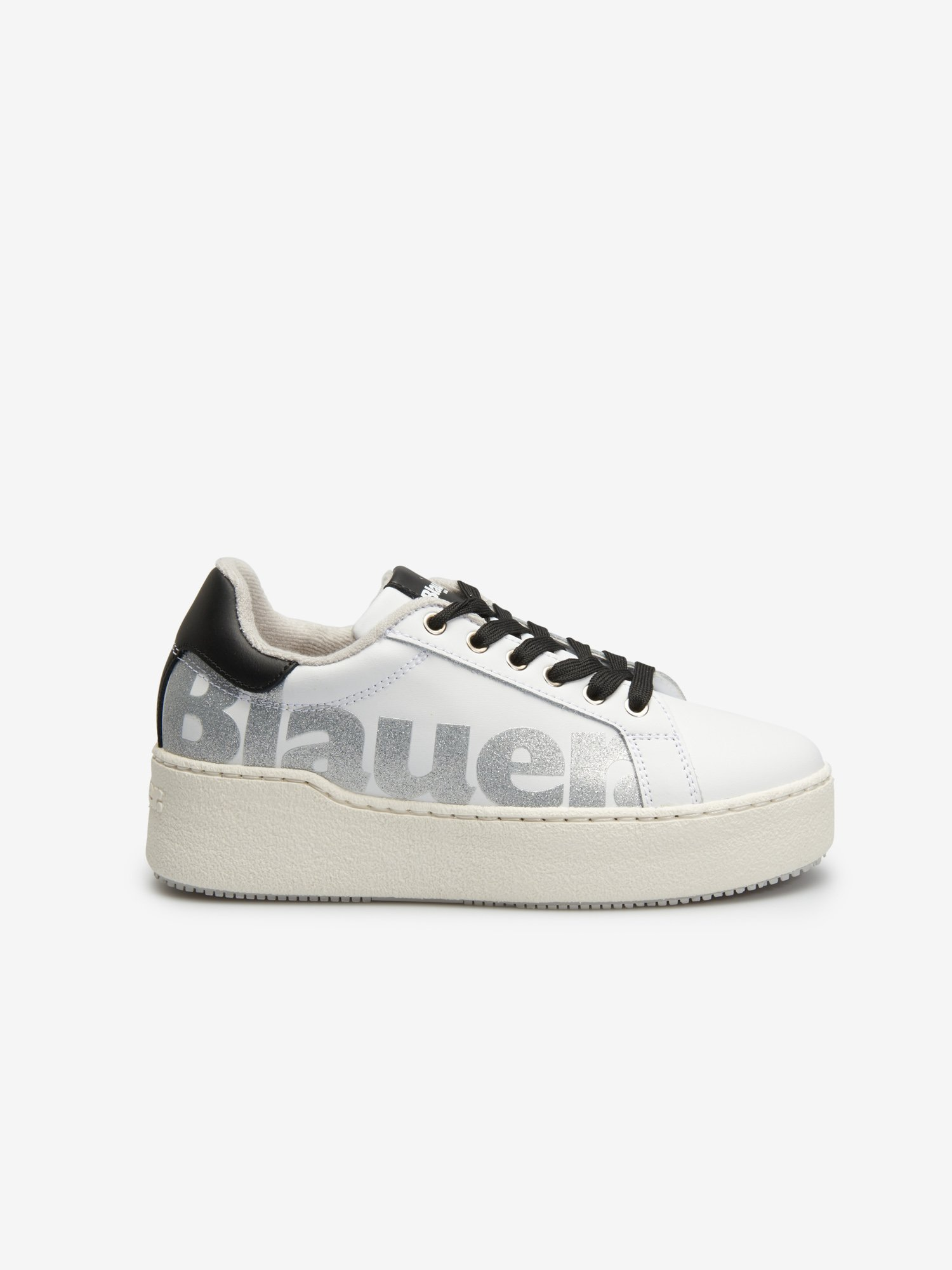 Blauer - Madeline Leather women's sneaker - Chalk - Blauer