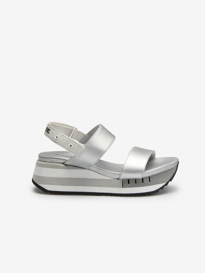 Charlotte Silver Sandals