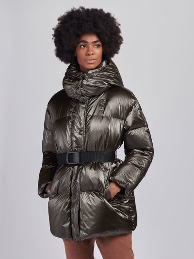 BETTY PEARLY DOWN JACKET WITH BELT