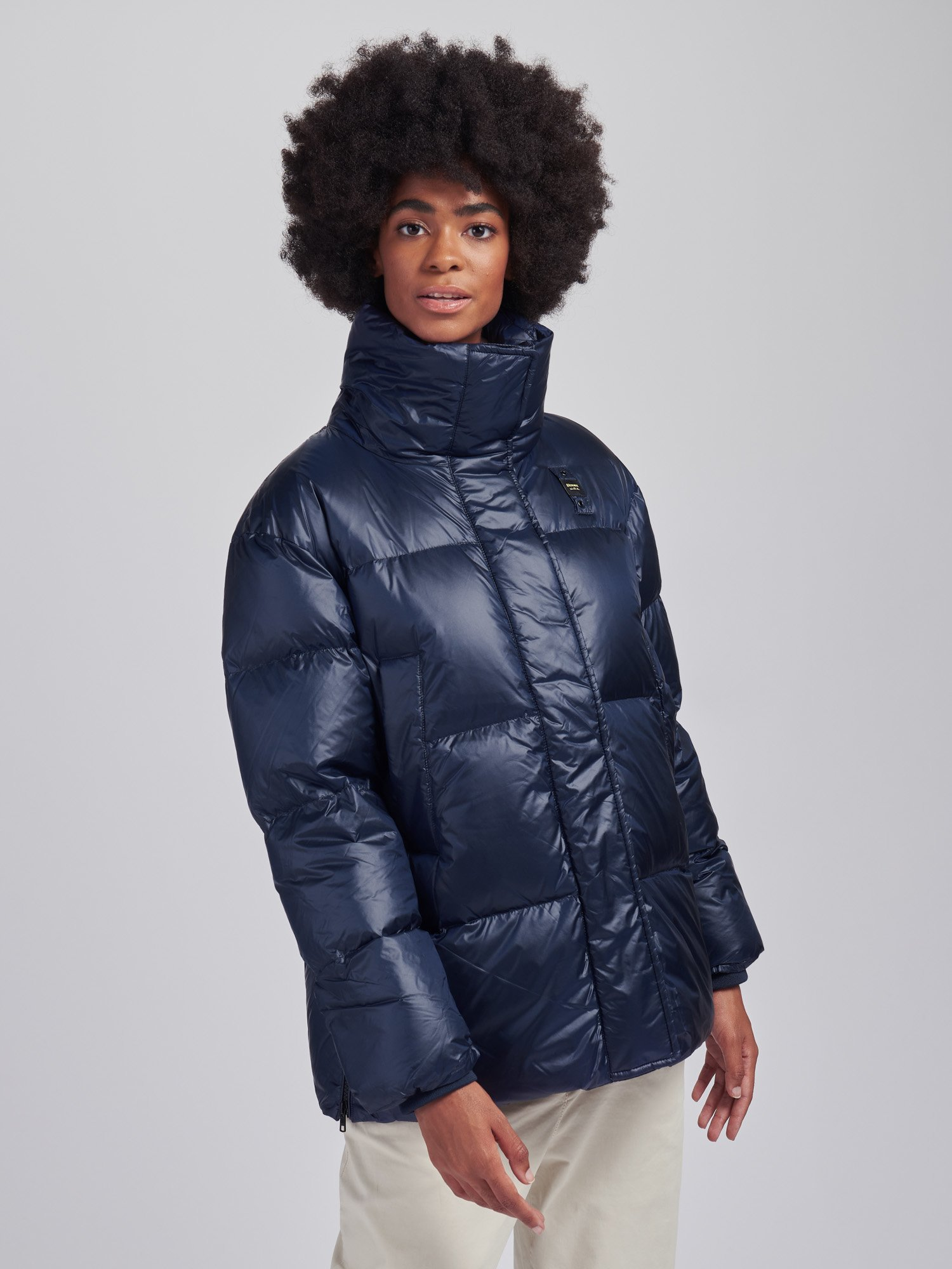 KAREN LONG DOWN JACKET IN NYLON - Blauer