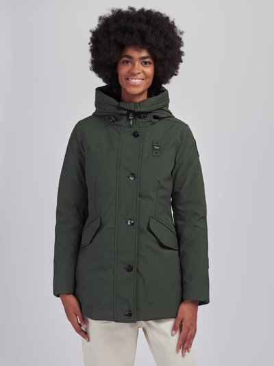 SHARON PARKA IN NEOPRENE