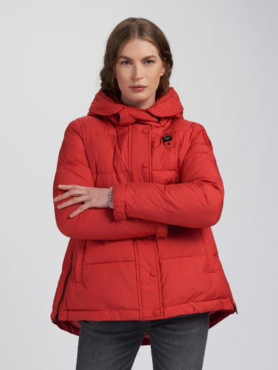 STEPHANIE WOOL BLEND PADDED JACKET