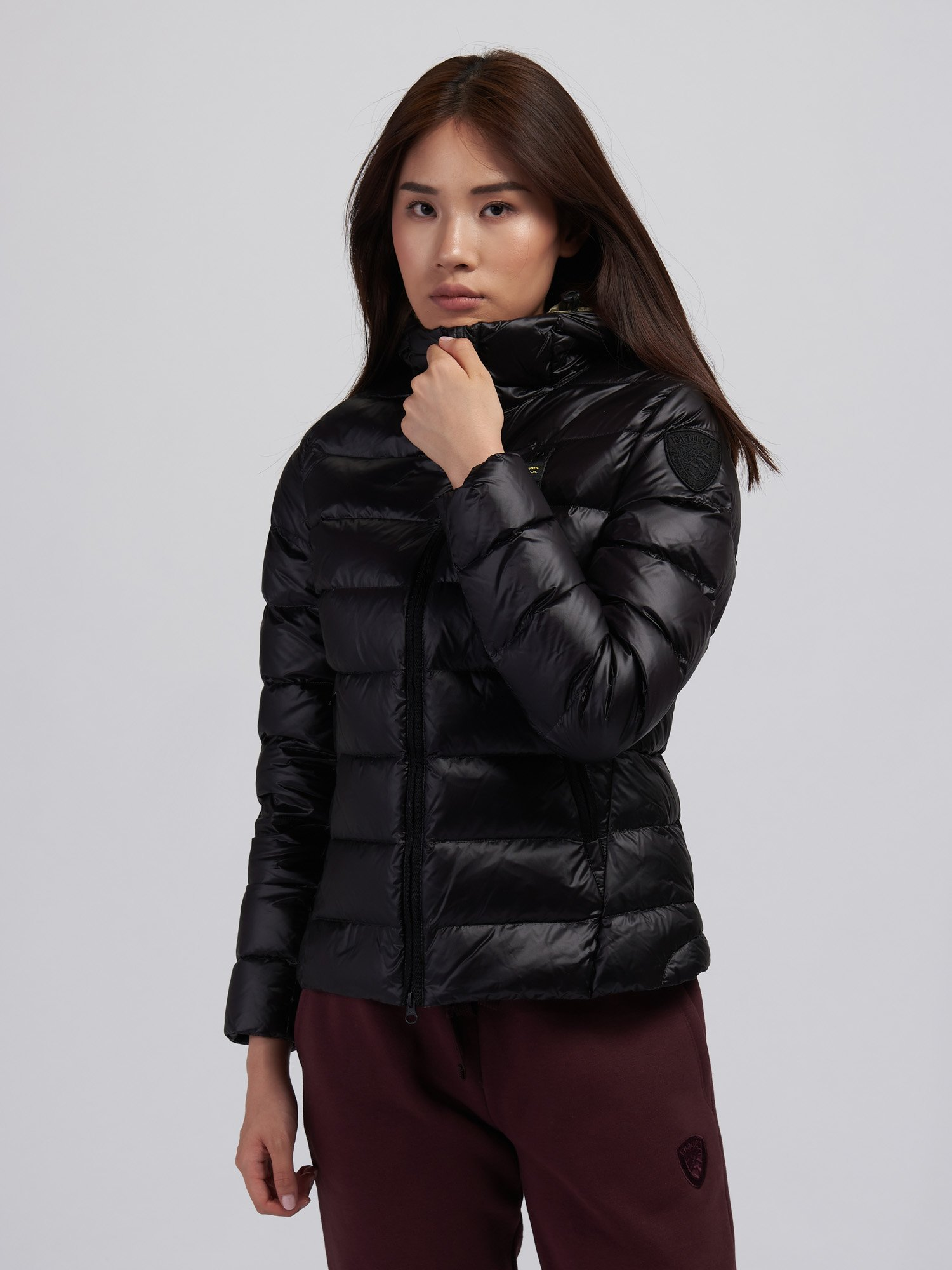 KIMBERLY WOMENS QUILTED DOWN JACKET WITH HOOD - Blauer