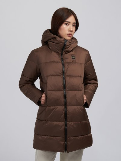 KATHERINE NYLON LONG PADDED JACKET