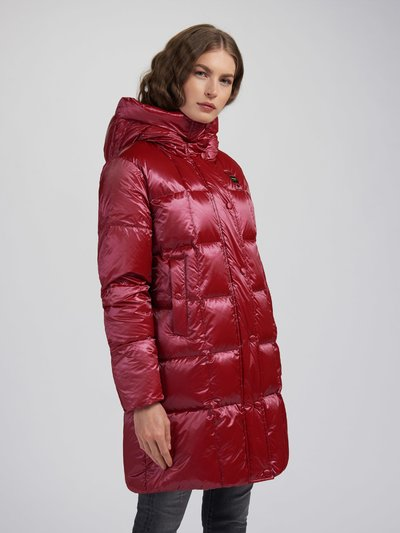 TERESA DOWN JACKET WITH SQUARE STITCHING