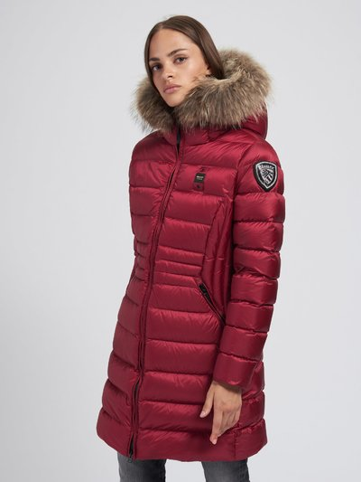 EVELYN FLARED LONG DOWN JACKET