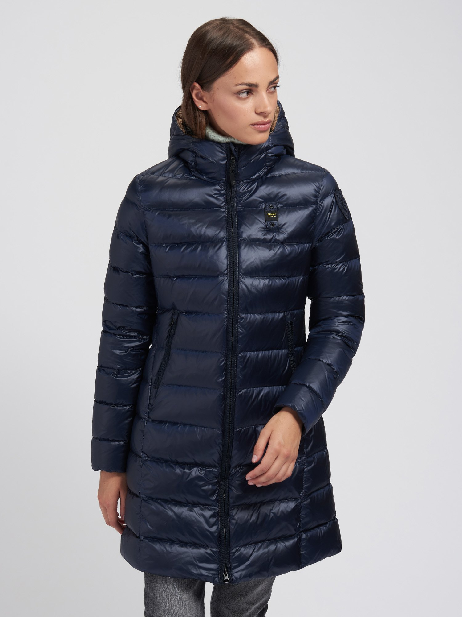 CATHERINE LIGHTWEIGHT LONG DOWN JACKET - Blauer