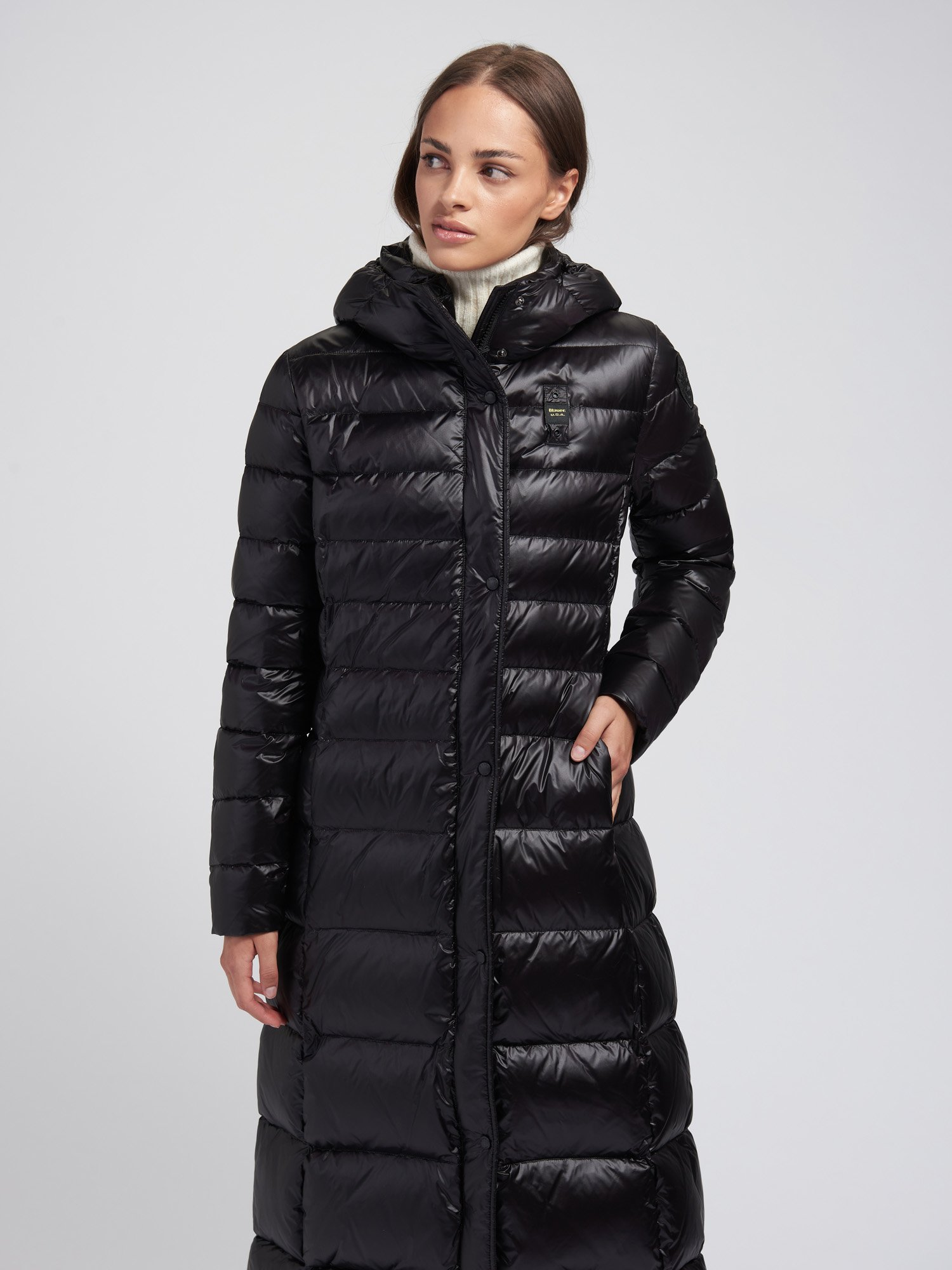 JANET LONG DOWN JACKET - Blauer