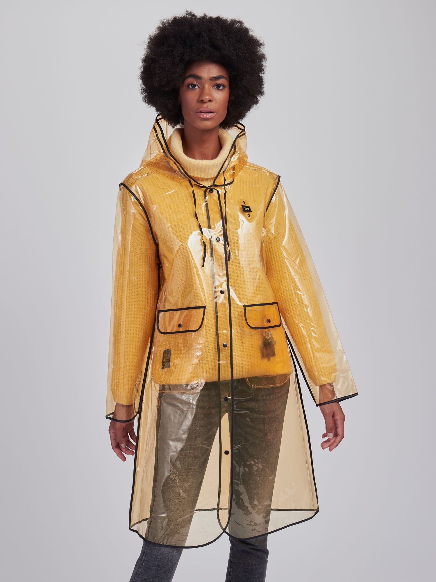 Blauer - MILDRED RAIN JACKET - Light Yellow - Blauer