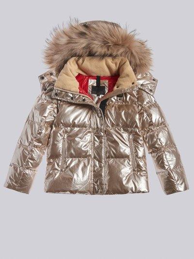 TAMMY PEARL EFFECT DOWN JACKET