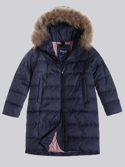 RACHEL LONG DOWN JACKET WITH FUR