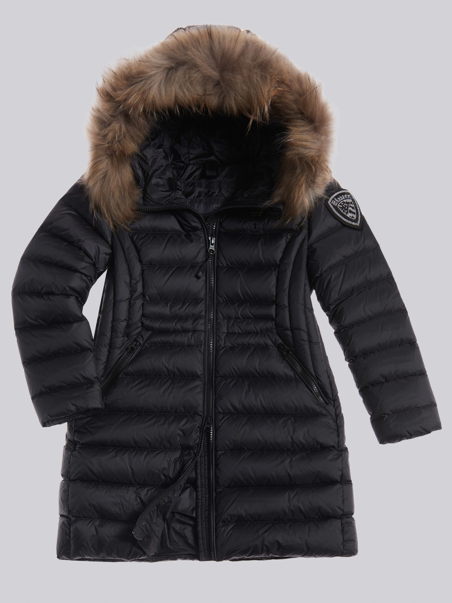 KATHRYN LONG FLARED DOWN JACKET - Blauer