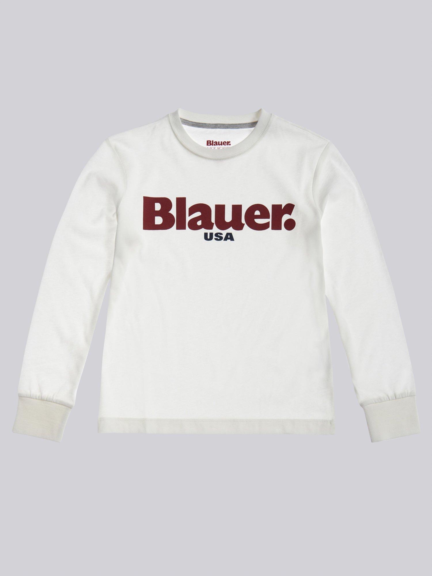 T-SHIRT MANICA LUNGA BLAUER - Blauer