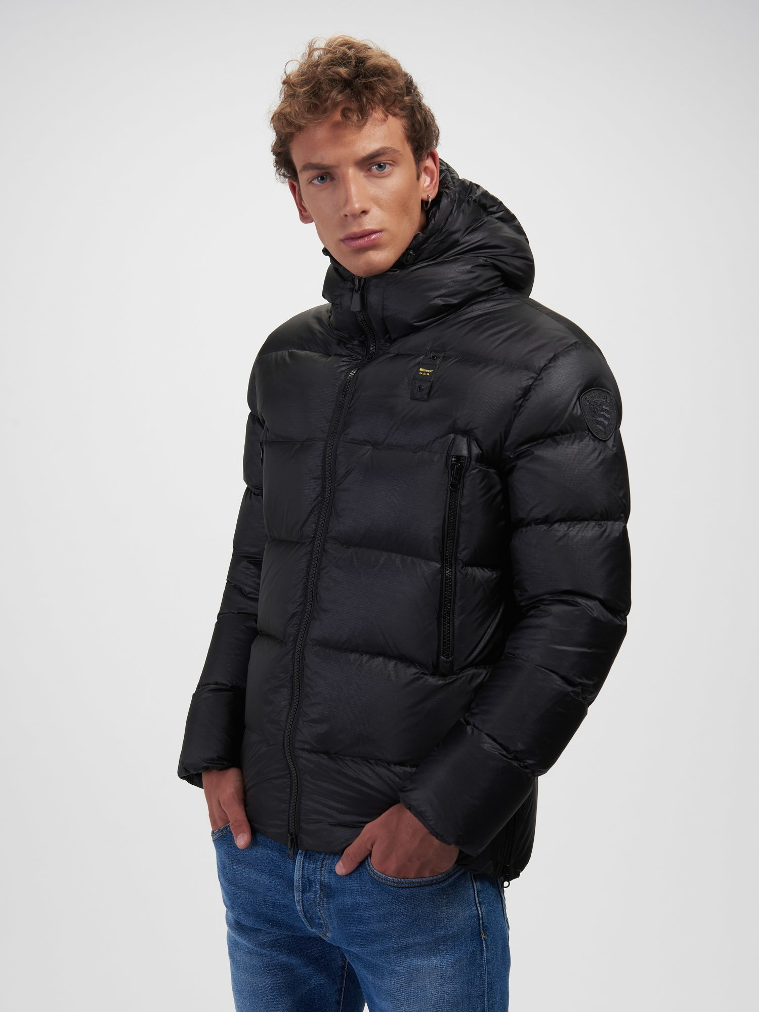 HENRY LONG DOWN JACKET - Blauer
