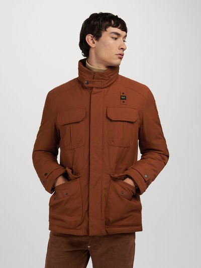 ALBERT WOOL EFFECT JACKET