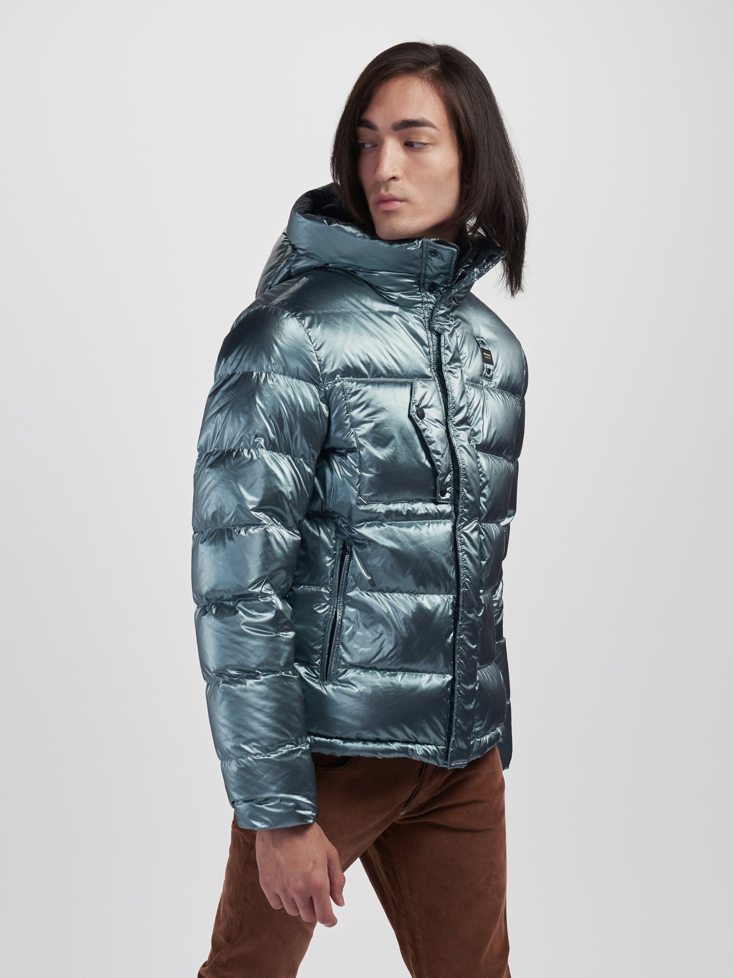 WILLE PEARLY DOWN JACKET WITH THREE POCKETS - Blauer