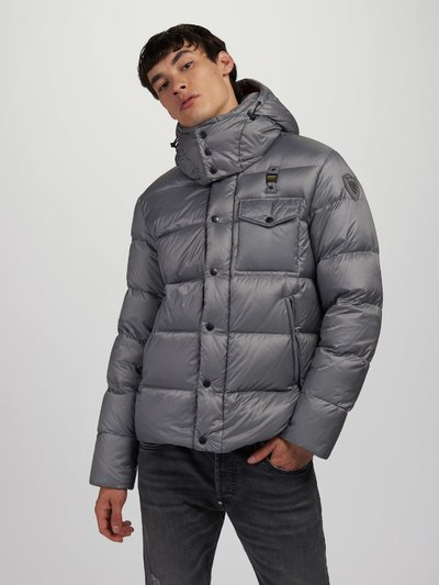 LAWRENCE DOWN JACKET WITH DETACHABLE HOOD