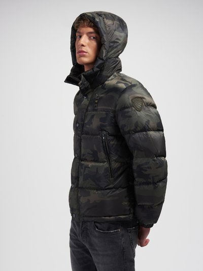 LOUIS CAMOUFLAGE DOWN JACKET