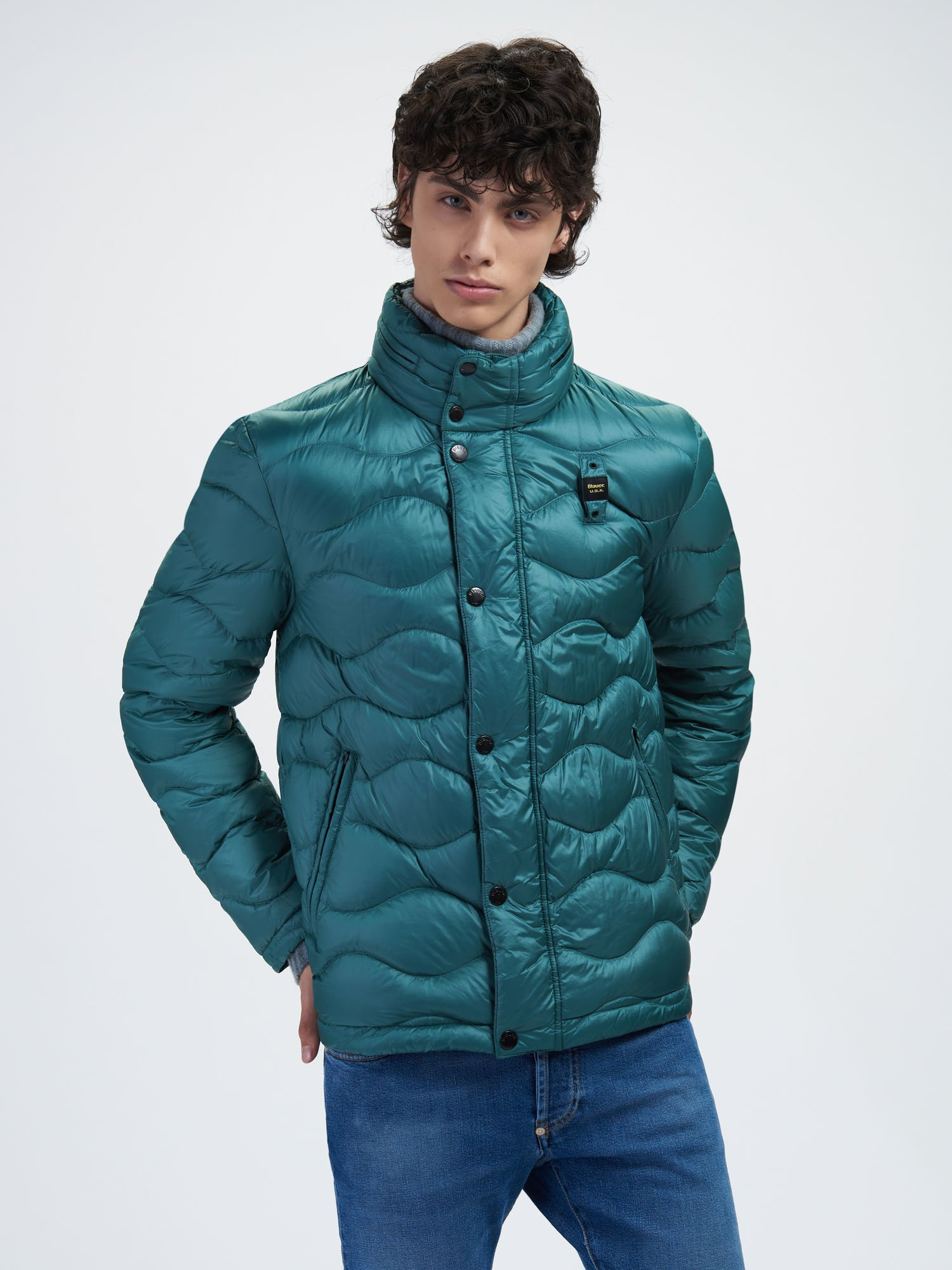 ADAM WAVE-QUILTED DOWN JACKET - Blauer