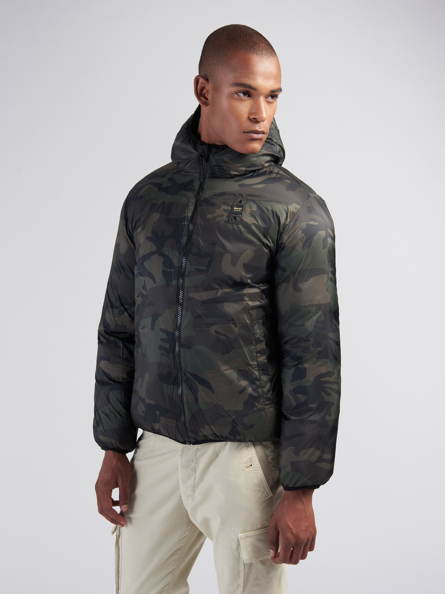 RALPH REVERSIBLE DOWN JACKET - Blauer