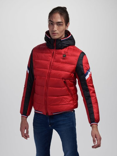 HARRY TWO-TONE USA DOWN JACKET
