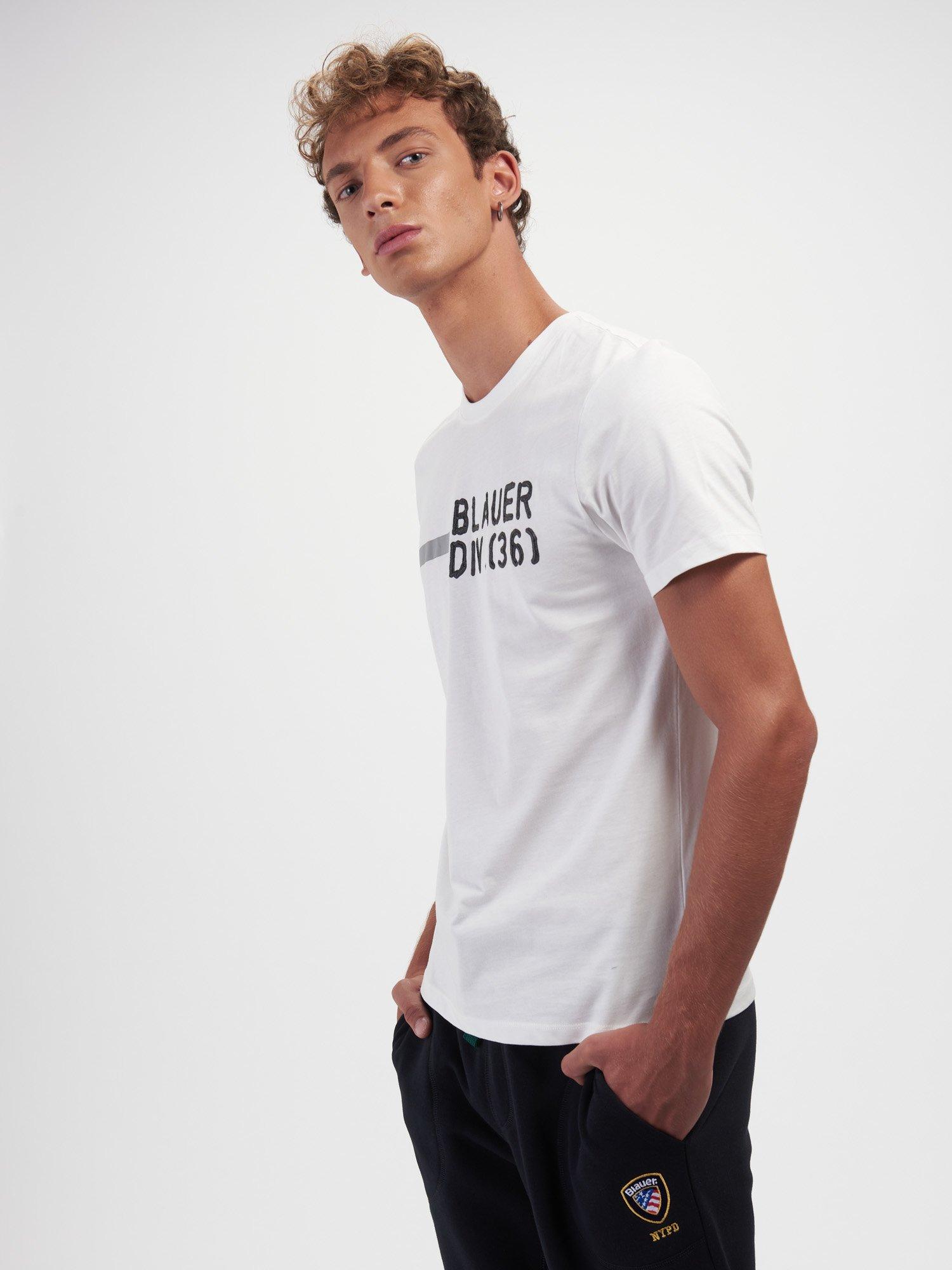 BLAUER DIV SHORT SLEEVE T-SHIRT - Blauer