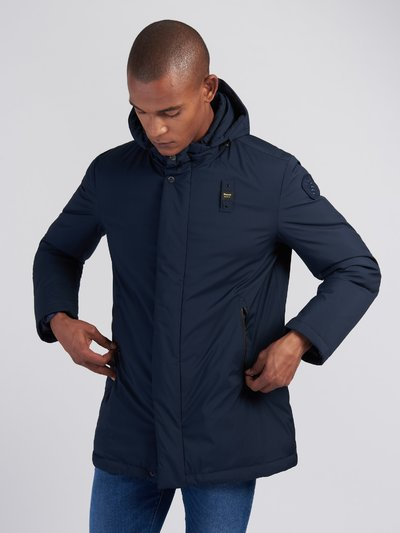 CLARENCE NYLON LONG DOWN JACKET