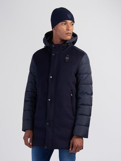 SHAWN WOOL AND NYLON DOWN JACKET