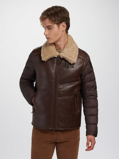 ERIC SHEARLING WITH LARGE COLLAR