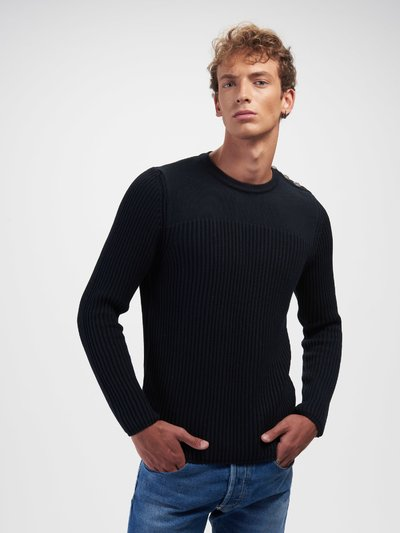 PULL COL ROND AVEC BOUTONS