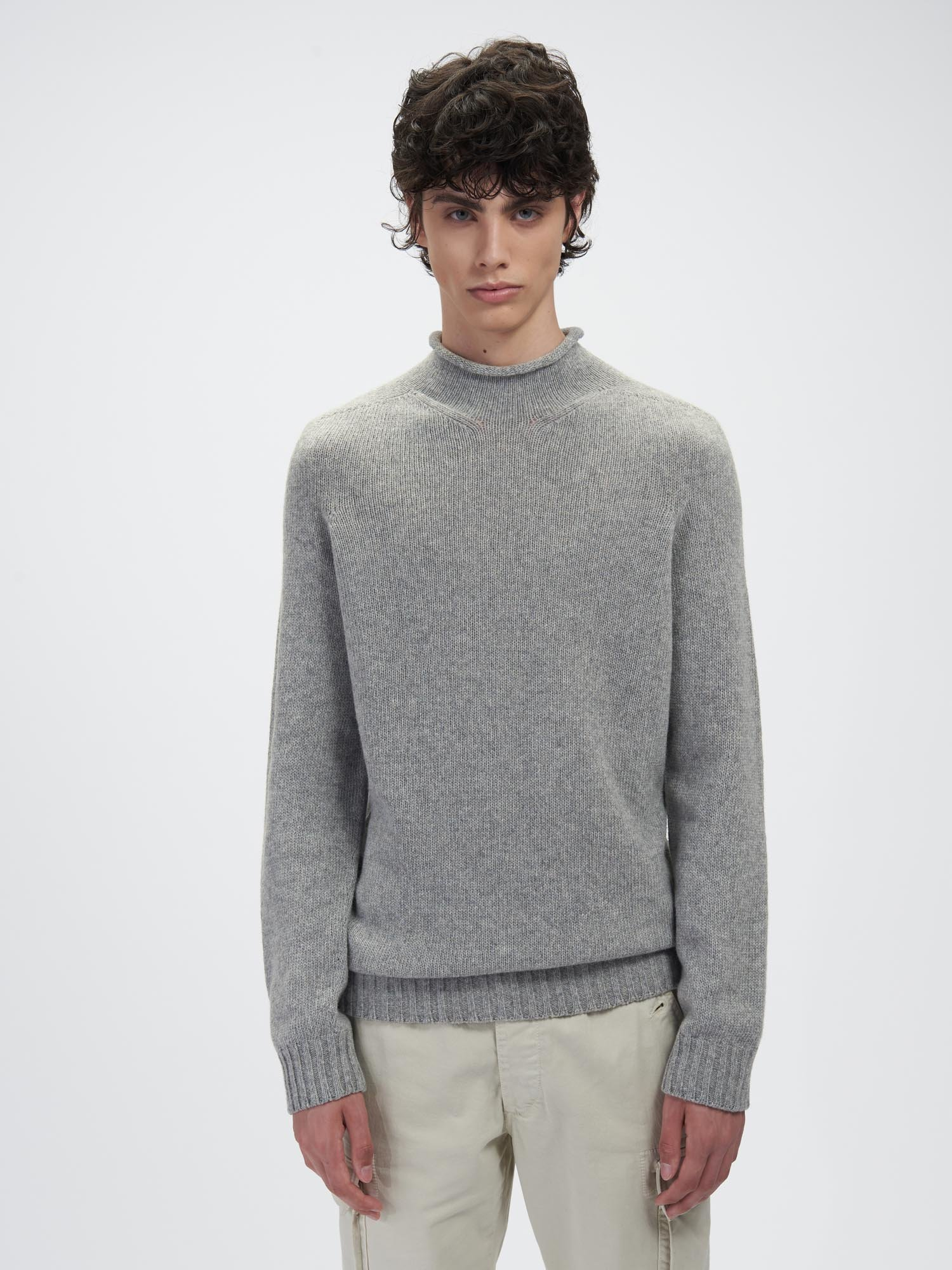 HIGH NECK SWEATER - Blauer