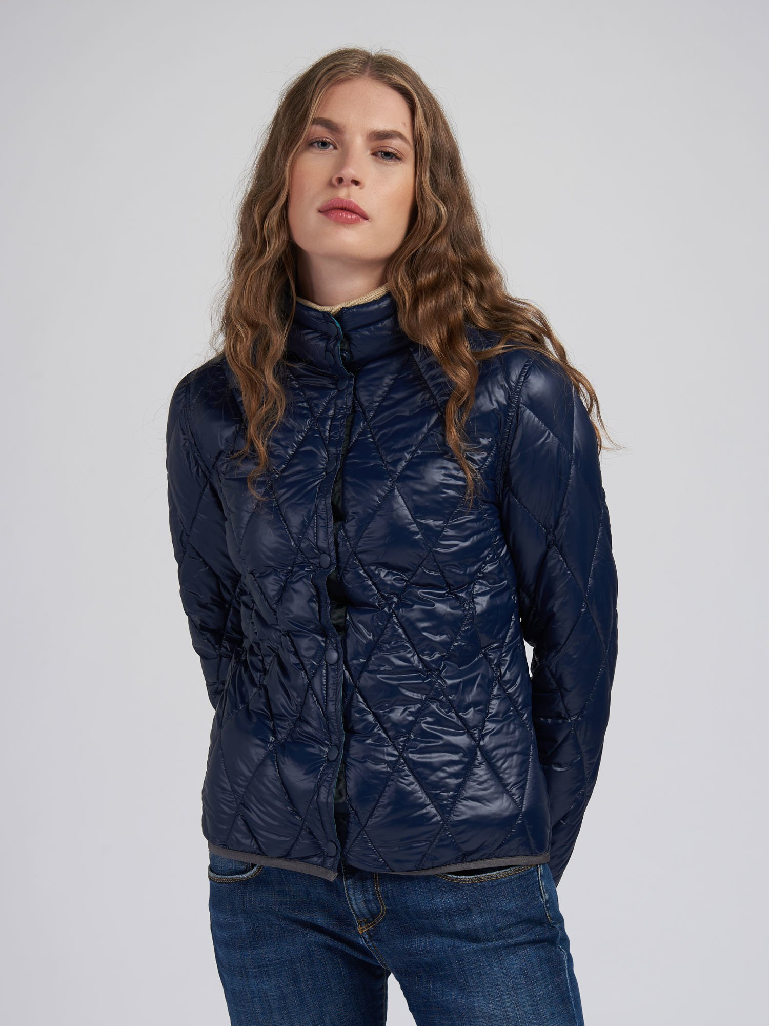 BPD FOUR SEASONS WOMAN DOWN JACKET - Blauer