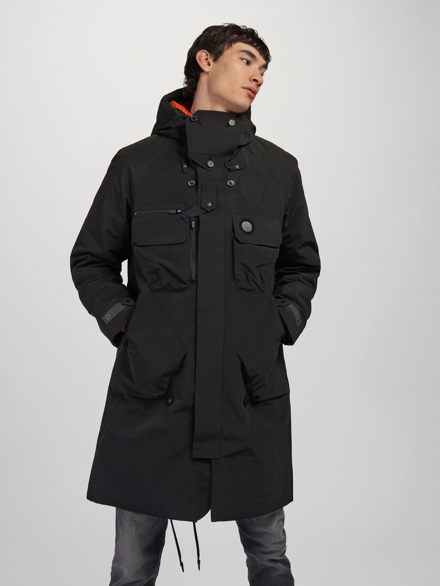3 LAYER LONG COAT - Blauer