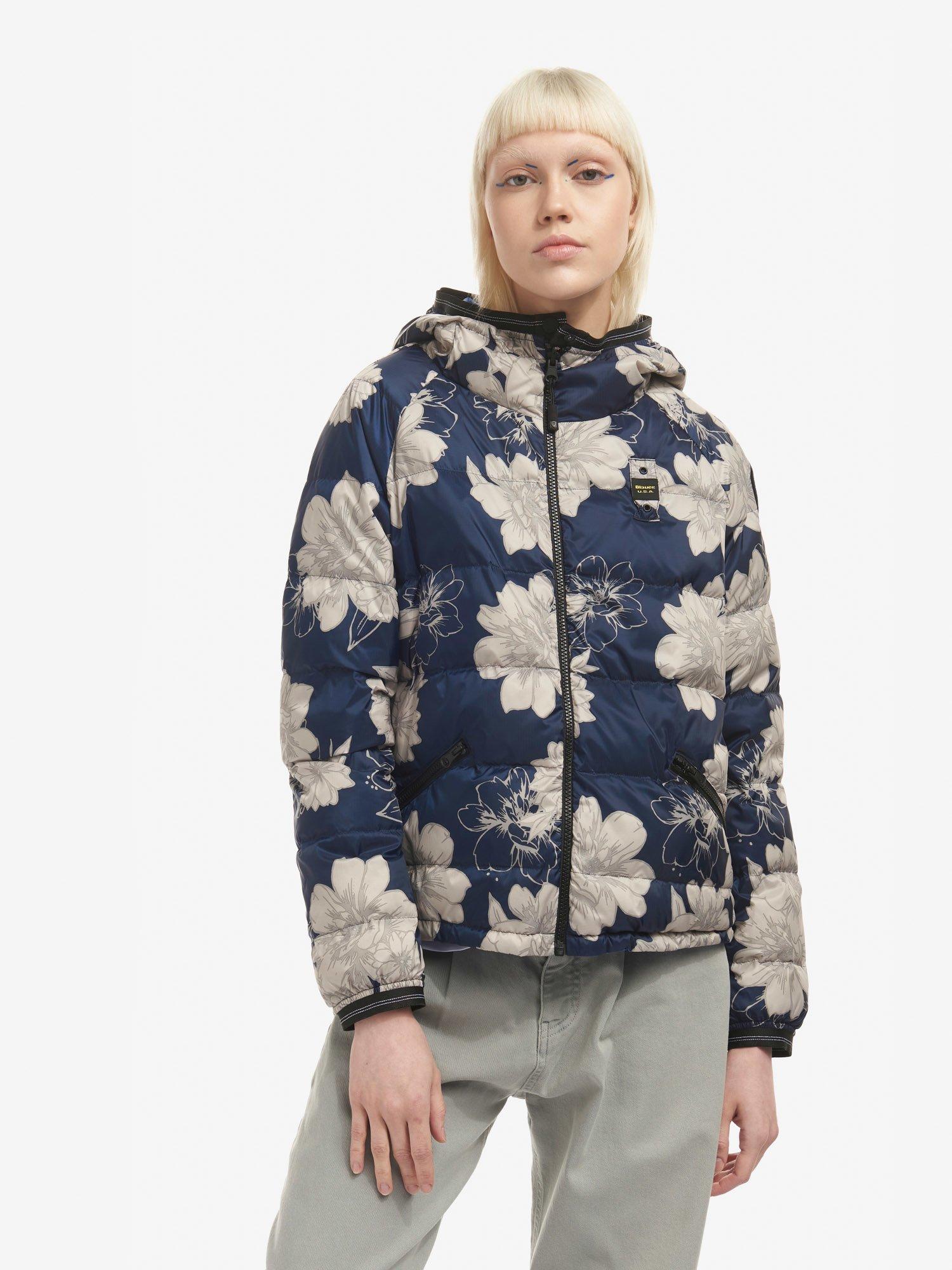 TIFFANY REVERSIBLE DOWN JACKET - Blauer