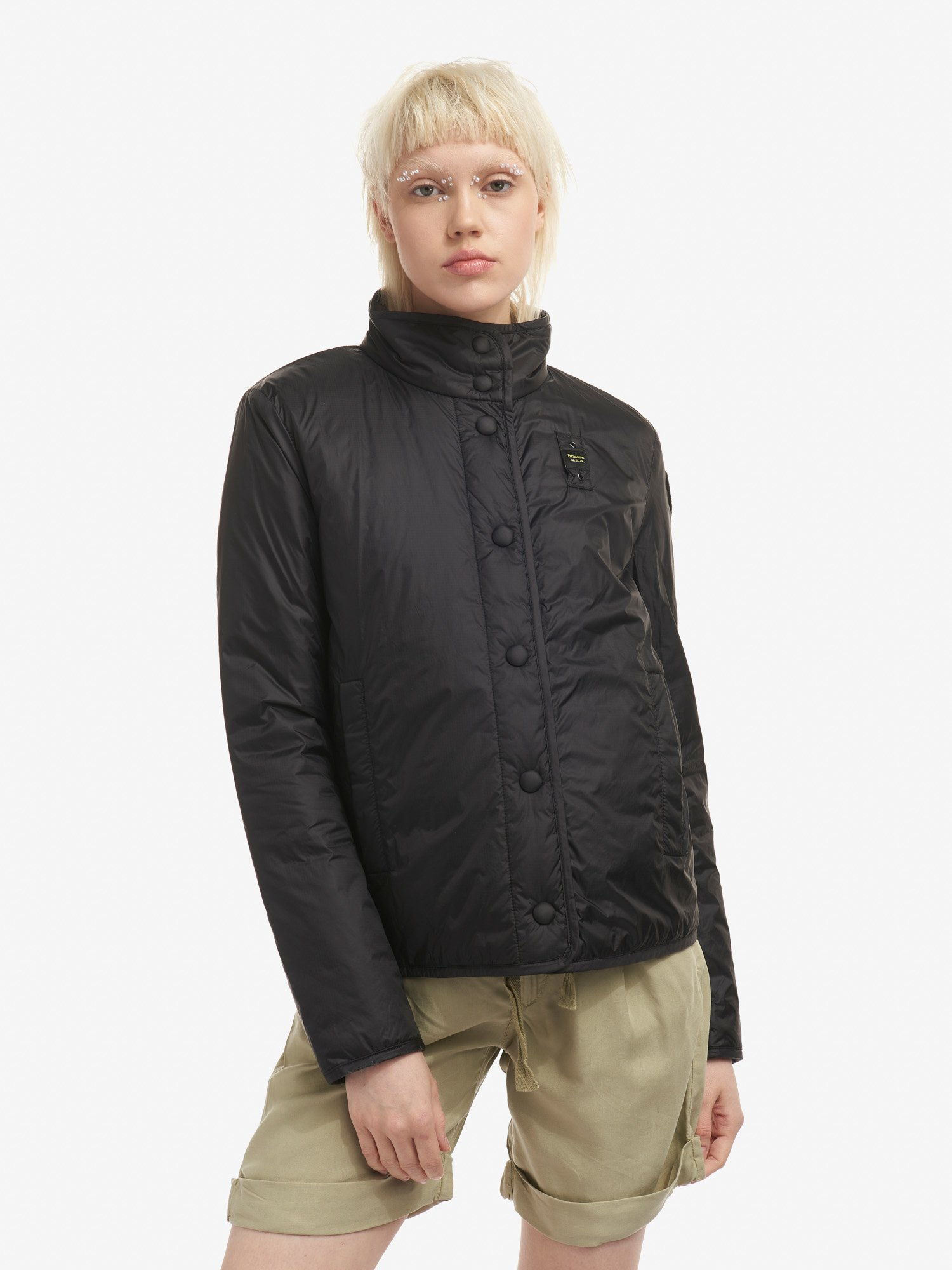 Blauer - RITA JACKET WITH LIGHTWEIGHT ECO PADDING - Black - Blauer