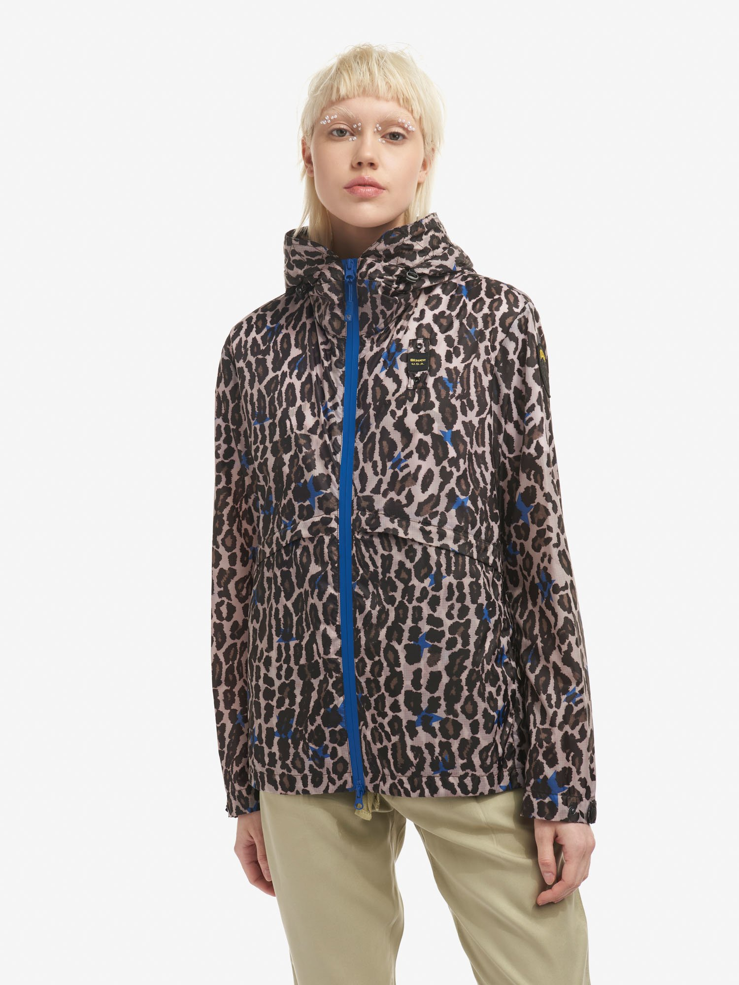 LILLIAN UNLINED ANIMAL PRINT JACKET - Blauer