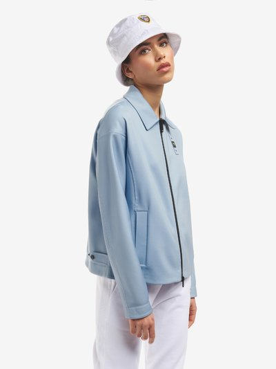 CRYSTAL UNLINED TAPED JACKET