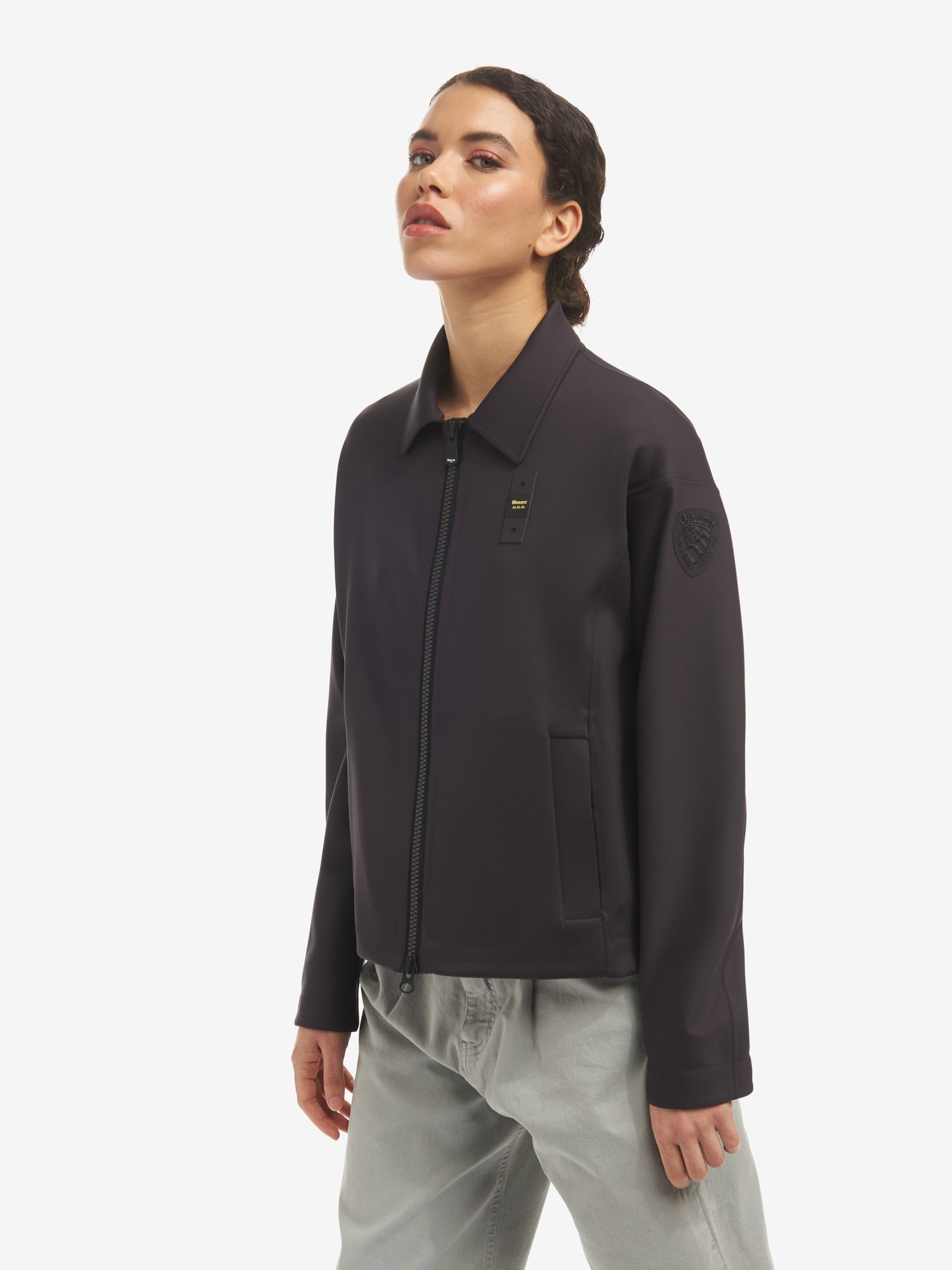 CRYSTAL UNLINED TAPED JACKET - Blauer