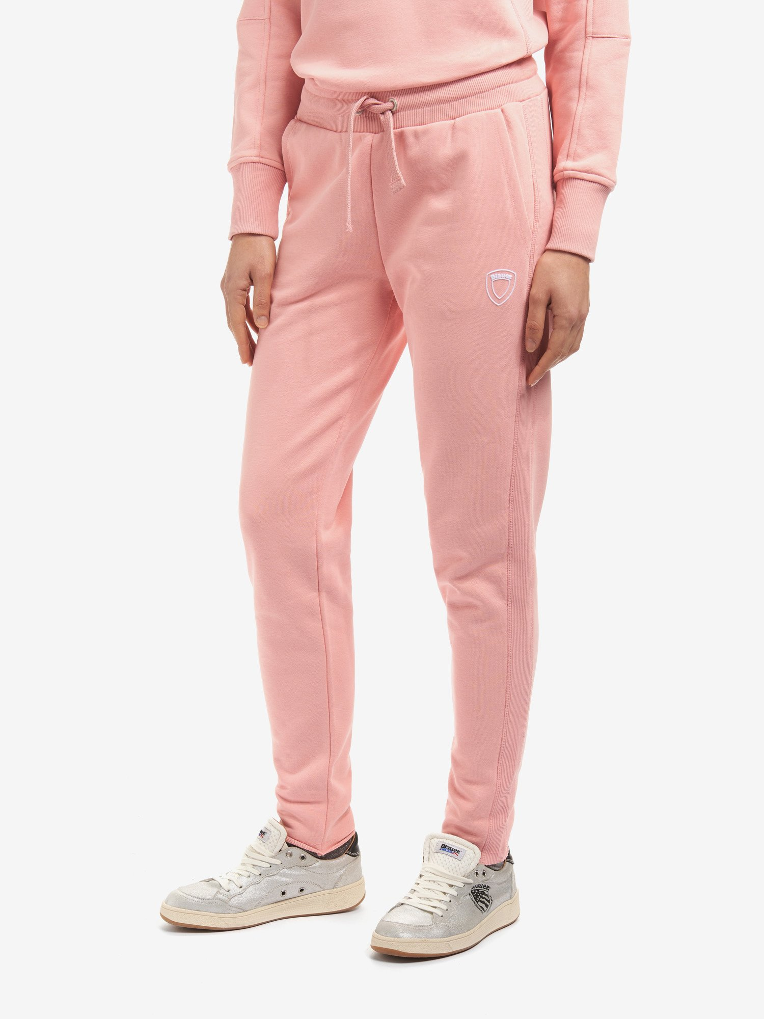 Blauer - ФЛИСОВЫЕ БРЮКИ - Soft Pink - Blauer