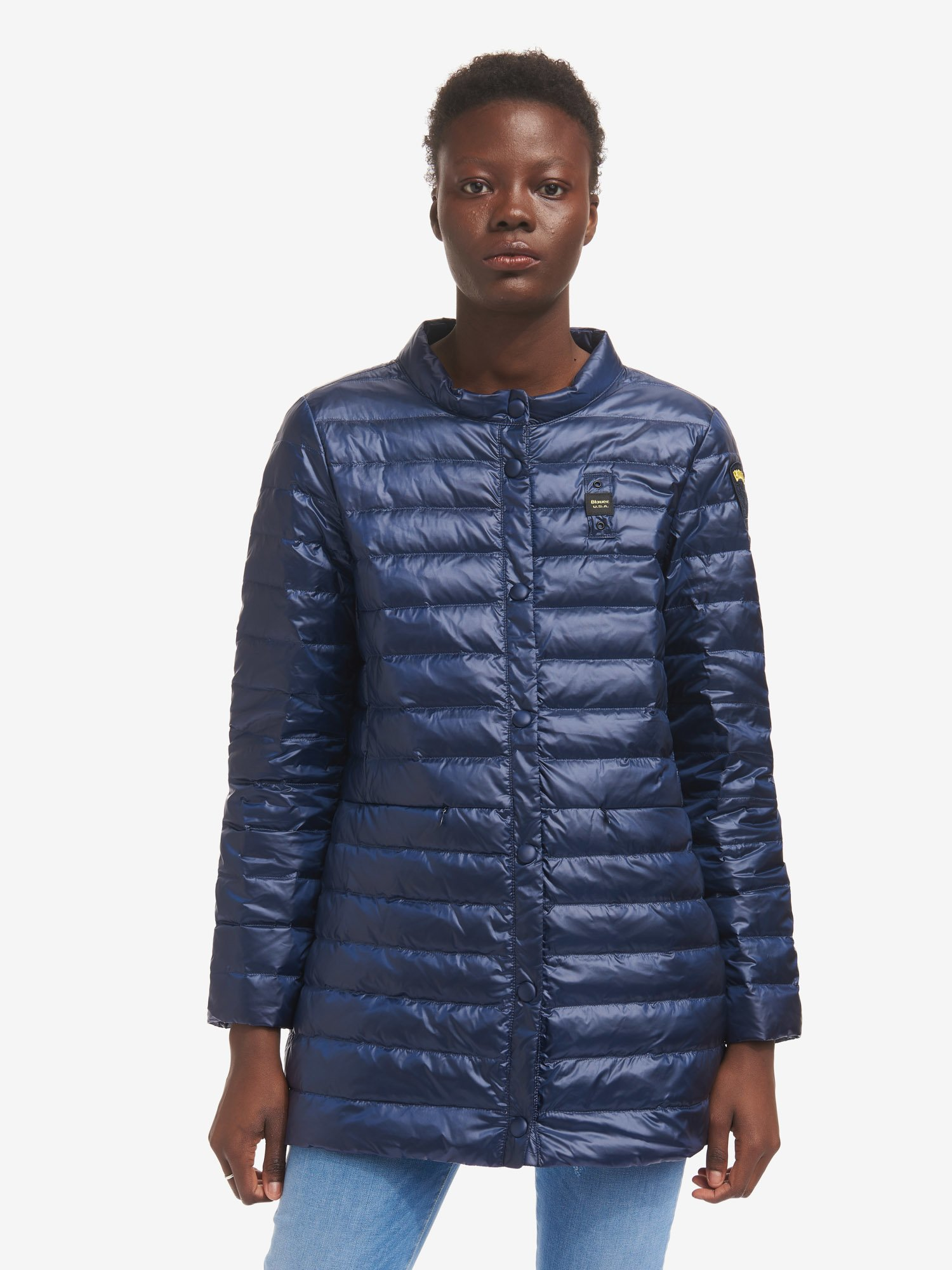 ROSA LONG DOWN JACKET - Blauer