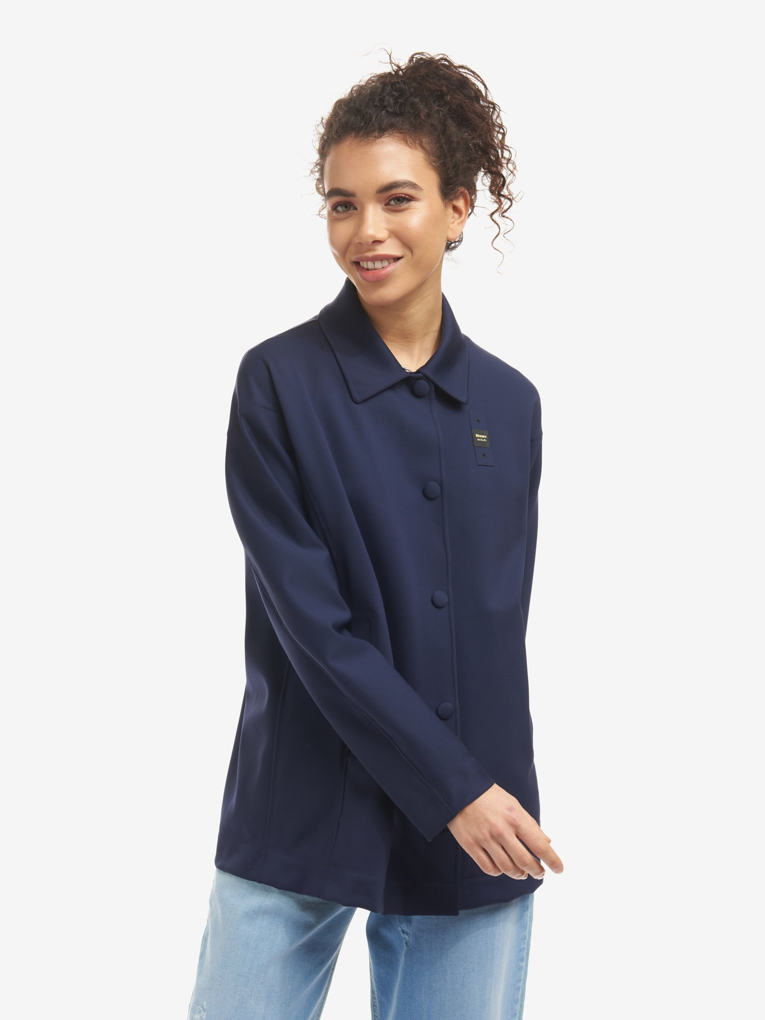 WENDY UNLINED LONG JACKET - Blauer