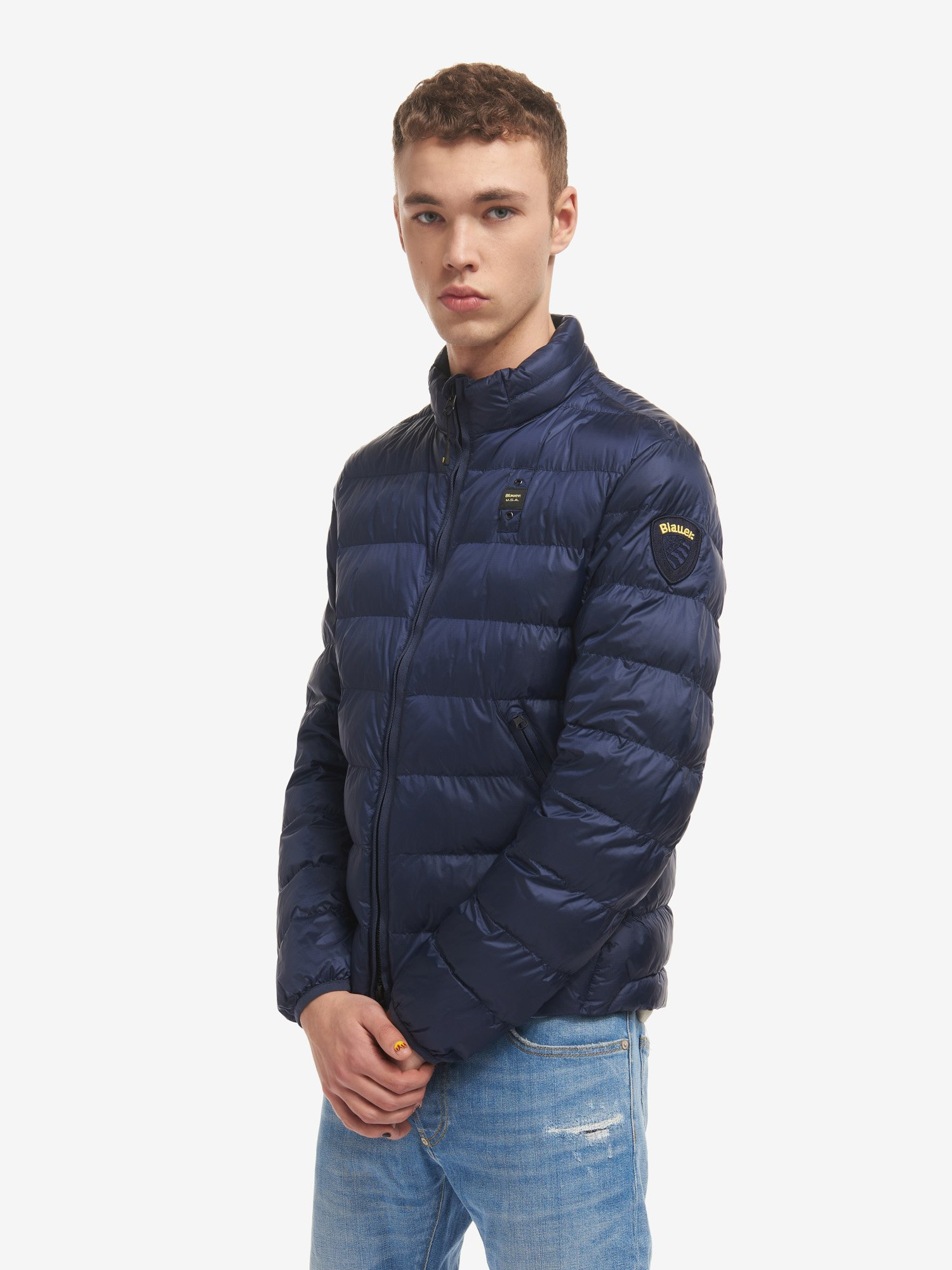 MARIO JACKET WITH LIGHTWEIGHT ECO PADDING - Blauer