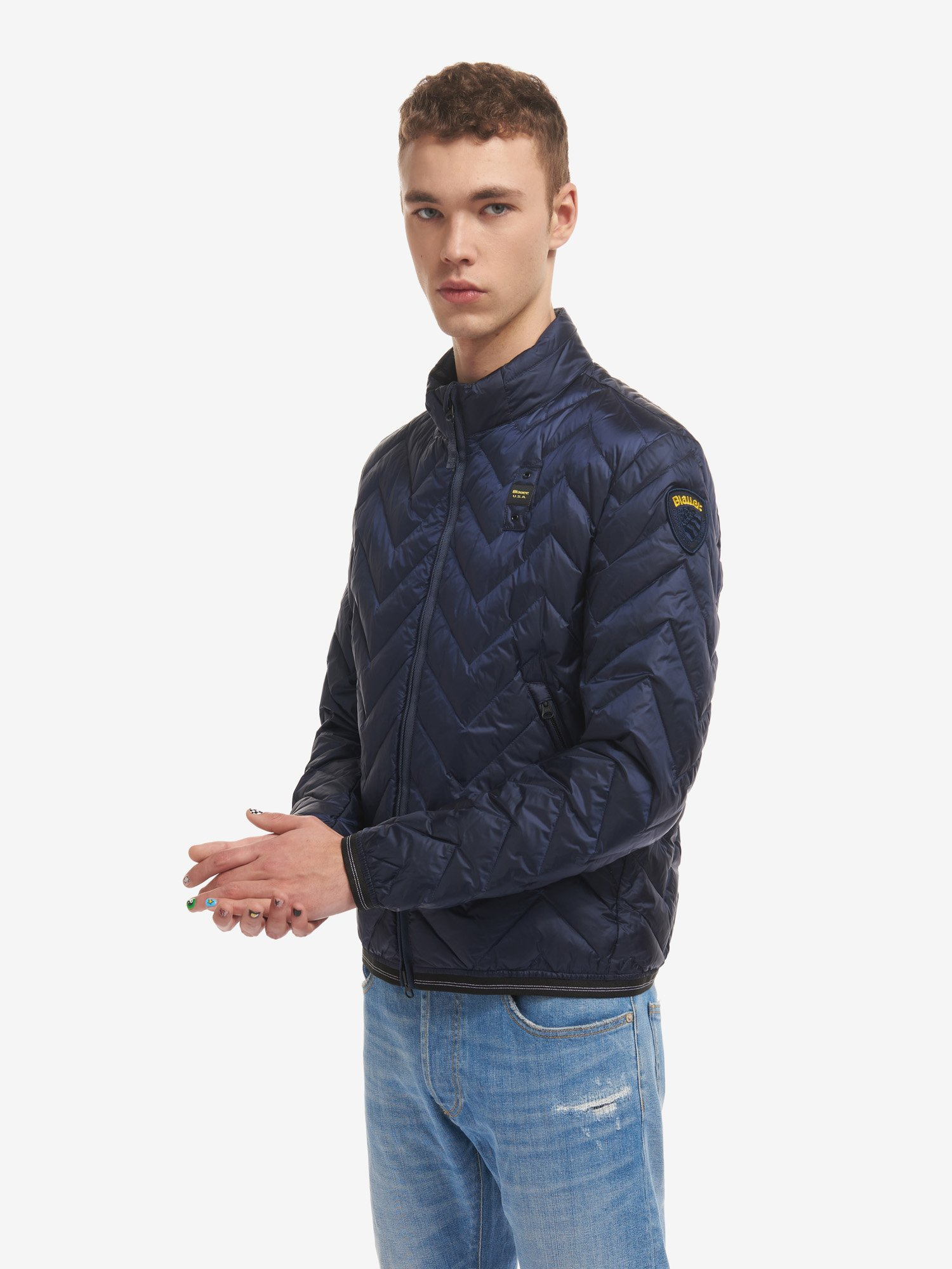 TRAVIS ZIG ZAG DOWN JACKET - Blauer